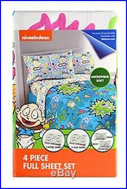NickelodeonRen & StimpySplat 4pc Twin or 5pc Full Bedding Collection Set