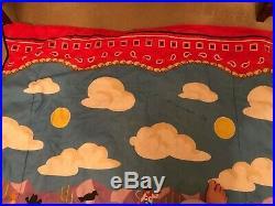 Olives kids ride em boys cowboy comforter, bed skirt, & twin sheet set bandana