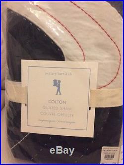 POTTERY BARN KIDS Colton Astronaut Twin Quilt/Sham/Sheet Space Stars Christmas