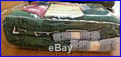 POTTERY BARN KIDS Twin Football Quilt and Sham 100% cotton NEW IN PACKAGE