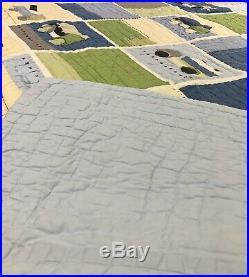 POTTERY BARN QUILT, Christopher Construction, Boys, Twin, 84 X 67.5, Trucks