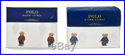Polo Ralph Lauren Girl / Boy Teddy Bear Sheet Set Twin Full Queen King