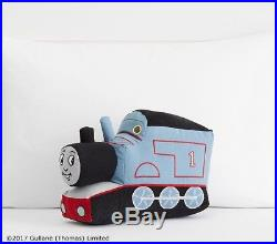 Pottery Barn KIDS THOMAS & FRIENDS QUILT With PILLOW-TWIN -NEW IN PLASTIC