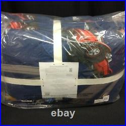 Pottery Barn Kid Hot Wheels Boys bed Comforter Quilt cover blanket cars Twin