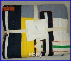 Pottery Barn Kids Airplane Icon Twin Quilt Multi Color New (#B50)