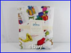 Pottery Barn Kids Dr. Seusss The Grinch & Max Organic Sheet Set Twin #150