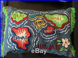 Pottery Barn Kids Hawaiian Beach Surf Bedding Quilt Sham Pillow