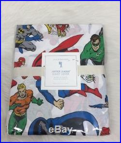 Pottery Barn Kids Justice League Duvet Cover Twin Batman Superman Flash