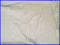 Pottery Barn Kids PBK 4 pc Boys Madras Blue Twin Quilt Sham Blanket Sheet Set