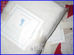Pottery Barn Kids Santa and Friends Twin Quilt + Quilted Sham HOLIDAY LAST ONE