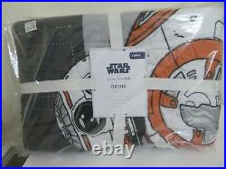 Pottery Barn Kids Star Wars Droid Twin Quilt/NIP sold out