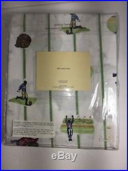 Pottery Barn Kids Twin Football Sheet Set NWT
