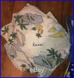 Pottery Barn Kids Twin QUILT SHEETS RUG SHAM ++ Beach Hawaiian Island Surf LOT