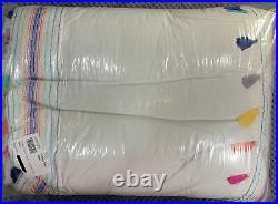 Pottery Barn Teen Emma Tassel Quilt, Twin/Twin XL, Multicolor, FREE SHIPPING