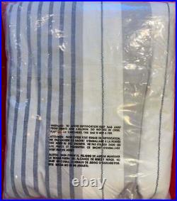 Pottery Barn Teen Harbor Stripe Duvet Cover, Twin/Twin XL, Gray, Free Shipping