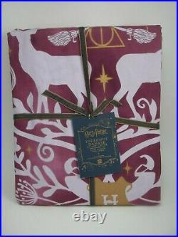 Pottery Barn Teen Harry Potter Patronus Damask Duvet Cover Full Queen #1813