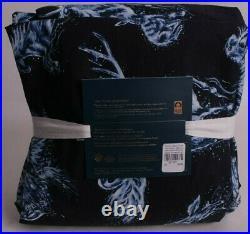 Pottery Barn Teen Harry Potter glow in the dark Patronus twin flannel sheet set