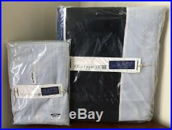 Pottery Barn Teen Kelly Slater Tide Stripe Twin Duvet Cover & Sham Blue Multi