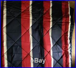 Pottery BarnDorm Bedding5 Piece Comforter SetBLOCK STRIPEXL TwinNavyNEW