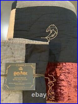 Pottery barn harry potter patchwork quilt twin + sham #1586
