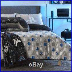 Ps4 New Design Teens Boys Original Reversible Comforter Set 2 Pcs Twin Size