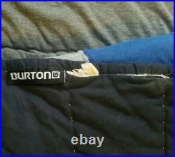 Rare Vintage Burton Snowboarding Pottery Barn Teens Patchwork Quilt Size Twin