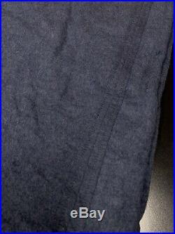 Restoration Hardware RH Baby & Child Vintage Sweatshirt Twin Duvet Navy Blue Boy