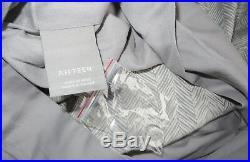 Restoration Hardware Teen Woven Herringbone Twin Duvet Cover Std Sham Storm Gray