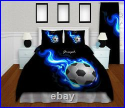 Soccer Bedding Boys, Comforter Pillowsham Set, Soccer Room Decor, Soccer Gifts