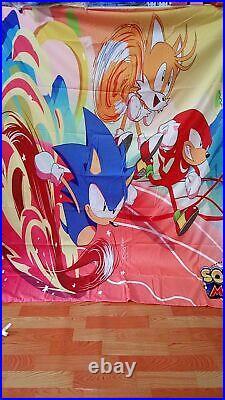 Sonic The Hedgehog Bedding Set 3D Print Design Duvet Cover Twin Size for Boys