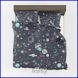 Space Comforter or Duvet Cover boys bedding celestial bedding galaxy comforter