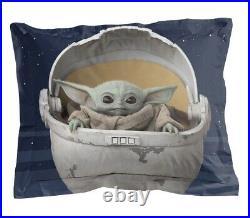 Star Wars Baby Yoda Comforter & Sheet Set 5 Piece Twin Kids Teens Mandalorian