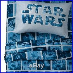 Star Wars Twin Bedding Complete Set Comforter Sheets Kids Boy Bedroom Decor