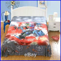 Stunning Transformers Twin Full Queen 7-piece Comforter In A Bag Free Shipping