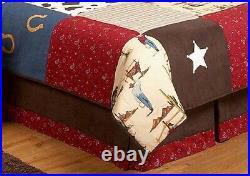 Sweet Jojo Designs 3-Piece Wild West Cowboy Western Children's Bedding Twin