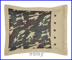 Sweet Jojo Designs Discount Cheap Green Camo Army Kid Teen Boys Twin Bedding Set