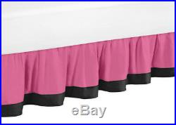 Sweet Jojo Designs Pink Soccer Ball Sports Kid Teen Twin Size Girl Bedding Set