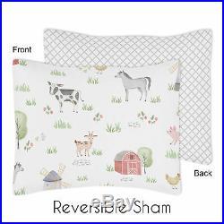 Sweet Jojo Farm Animals Boy Girl Twin Size Kid Childrens Bedding Comforter Set