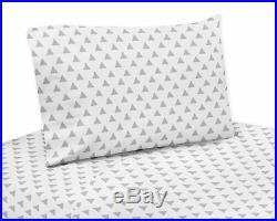 Sweet Jojo Gray Navy Mint Green Arrow Girl Or Boy Toddler Comforter Bedding Set