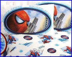 TWIN Marvel Comics Spider-man Spiderman Spider Sense SHEET & COMFORTER SET