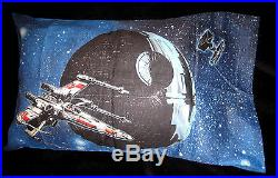 TWIN Star Wars Darth Vader & Spacecraft SHEET & COMFORTER SET