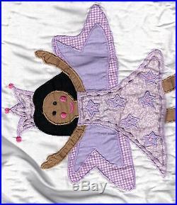 That's Mine FAIRY PRINCESS Purple 4 Pc Twin Bedding Childrens Girls Crown Wand