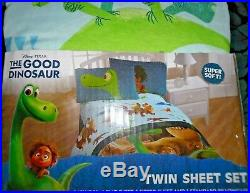 The Good Dinosaur 8pc Twin Bedding Set Comforter 2 Sheet Set Pillow Sham New