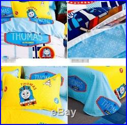 Thomas The Train Bedding Set Bed Comforter Toddler Boys Kids Sheets Pillowcase