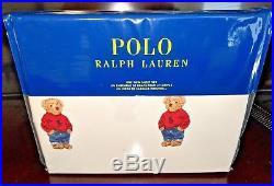 Twinralph Lauren Limited Edition Boy Polo Bear 3 Pc Set