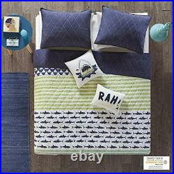 Urban Habitat Kids Finn Twin/Twin Xl Bedding Sets Boys Quilt Set Green Navy