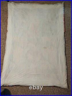 Vintage 1992 Jurassic Park Twin Size Comforter Blanket Made In USA
