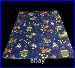 Vintage Digimon Reversible Twin Size Hongo Anime Blanket Comforter Bedspread