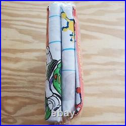 Vintage Toy Story Movie Promo 90s Full Sheet Set Brand New Damaged Package