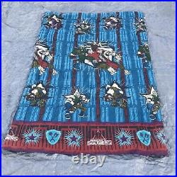 Vtg 90s Small Soldiers Twin Bed Comforter Blanket Vintage Childrens